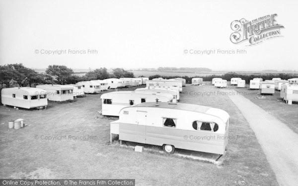 Photo of Ulrome, Top View Caravan Park c.1965