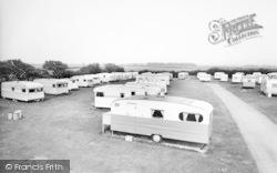Ulrome, Top View Caravan Park c.1965
