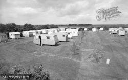 Ulrome, Top View Caravan Site c.1960