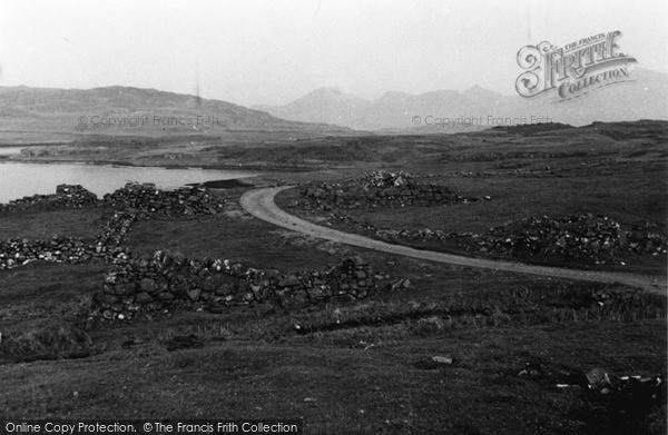 Photo of Ulva, Ruined Crofts 1959