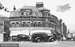 Ulverston, Birkett's County Stores c.1950
