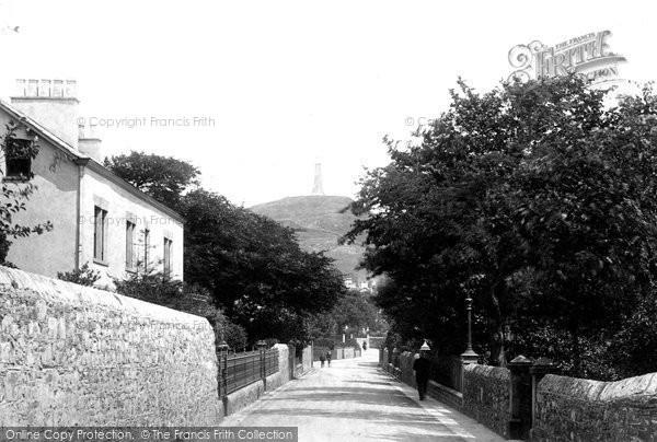 Photo of Ulverston, Church Walk 1895