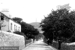 Ulverston, Church Walk 1895