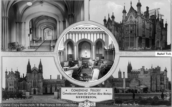 Photo of Ulverston, Conishead Priory Composite 1931