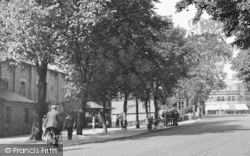 Ulverston, Cycling Up Victoria Road c.1950