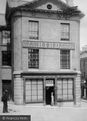 Ulverston, Hird Family Grocer,  Market Place 1895