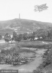 Ulverston, Hoad Hill And Monument 1895