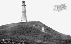 Ulverston, Hoad Hill And Monument 1912