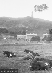 Ulverston, Hoad Hill And Monument 1929