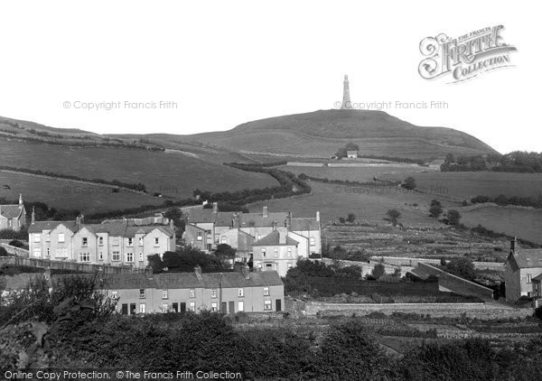 Photo of Ulverston, Hoad Hill From Mowings Lane 1925