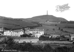 Ulverston, Hoad Hill From Mowings Lane 1925
