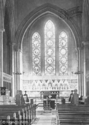 Ulverston, Holy Trinity Church Interior 1895