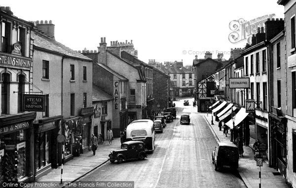 Photo of Ulverston, King Street 1950