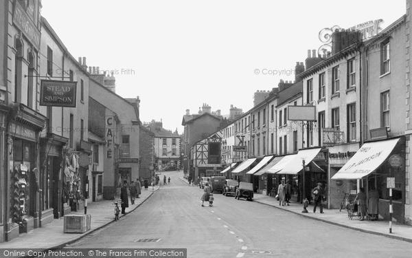 Photo of Ulverston, King Street c.1950