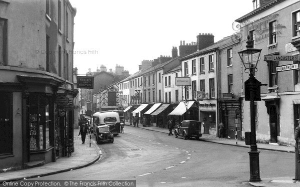 Photo of Ulverston, King Street c.1950
