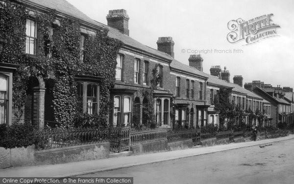 Photo of Ulverston, Lightburn Terrace 1907
