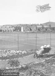 Ulverston, Lightburne Park Tennis Courts 1907