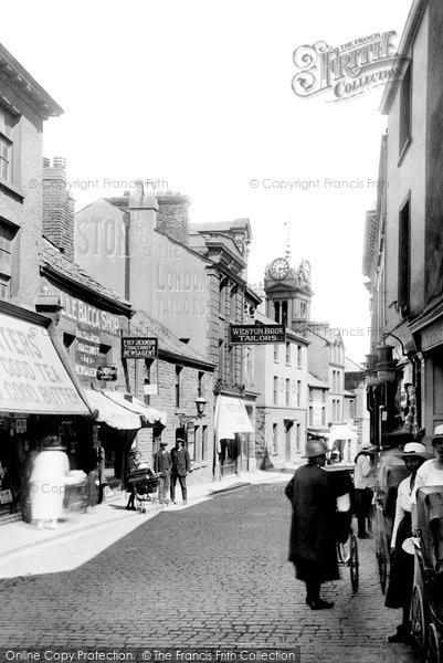 Photo of Ulverston, Lower Market Street 1921