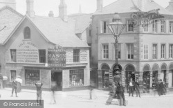 Ulverston, Mackereth & Son Chemist And Druggist, Market Place 1895