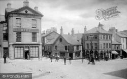 Ulverston, Market Place 1895