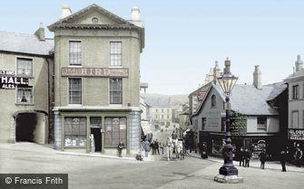 Ulverston, Market Place 1912