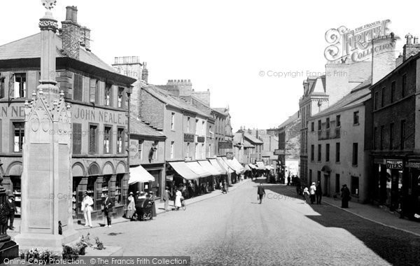 Photo of Ulverston, Market Place 1921