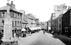 Ulverston, Market Place 1921