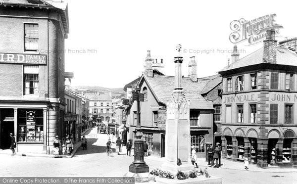 Photo of Ulverston, Market Square 1921
