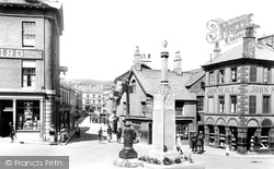 Ulverston, Market Square 1921