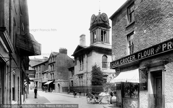 Photo of Ulverston, Market Street 1895