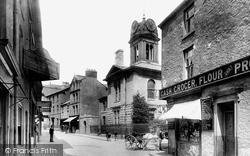 Ulverston, Market Street 1895