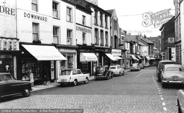 Photo of Ulverston, Market Street 1961