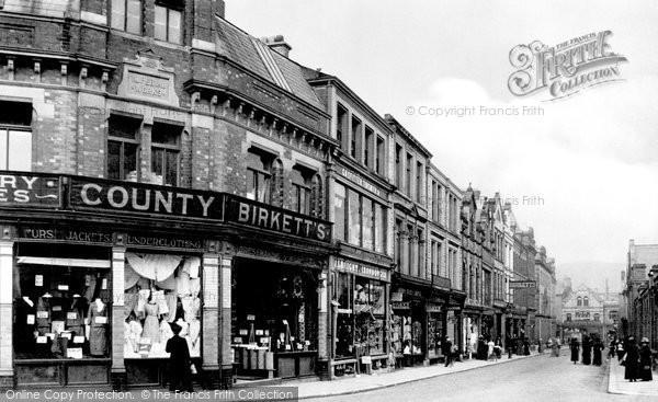 Photo of Ulverston, New Market Street 1912