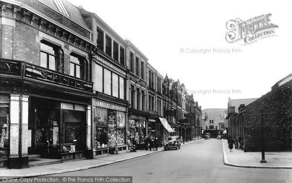 Photo of Ulverston, New Market Street 1934