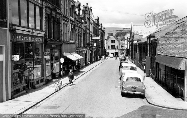 Photo of Ulverston, New Market Street 1961