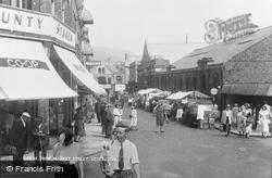 Ulverston, New Market Street c.1955