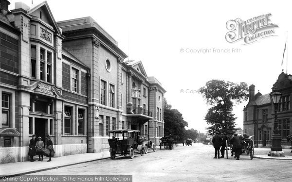 Photo of Ulverston, Post Office And Coronation Hall 1918