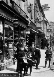 Ulverston, S.Warhurst, King Street 1912