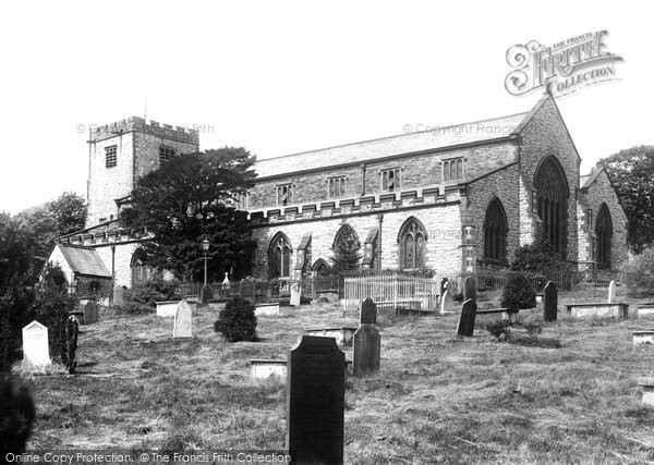 Photo of Ulverston, St Mary's Church 1895