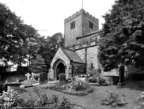 Photo of Ulverston, St Mary's Church 1929