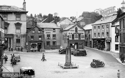 Ulverston, The Cross c.1950