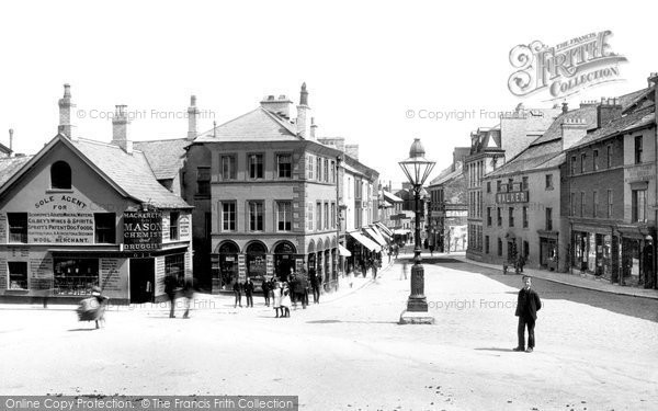 Photo of Ulverston, The Square 1895