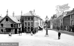 Ulverston, The Square 1895