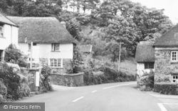 The Main Road c.1955, Umberleigh
