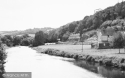 Umberleigh, The River Taw c.1955