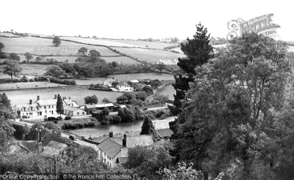 Umberleigh, the Village c1950