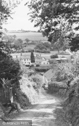 Umberleigh, The Village c.1955
