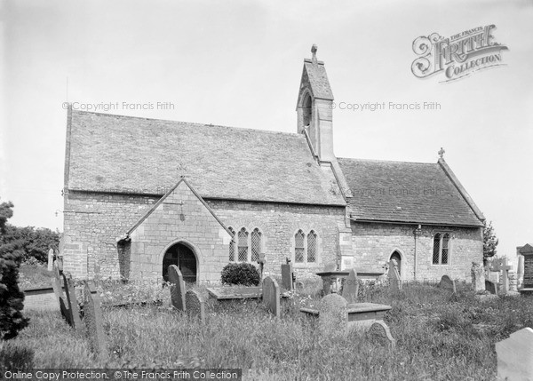 Photo of Undy, Church Of St Mary c.1950