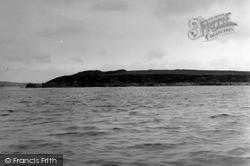 Hoga Ness Broch, Belmont 1954, Unst