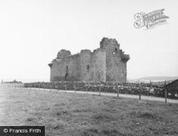 Muness Castle 1954, Unst